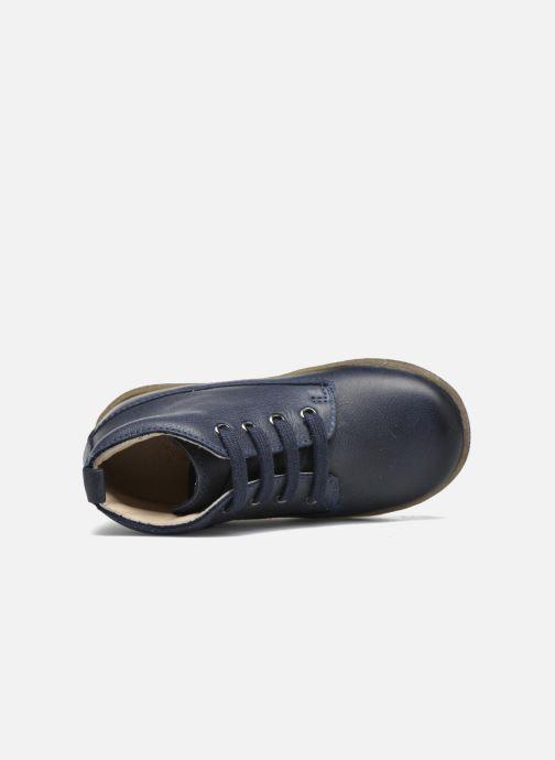 Scarpe con lacci Naturino Falcotto 1196 Azzurro immagine sinistra