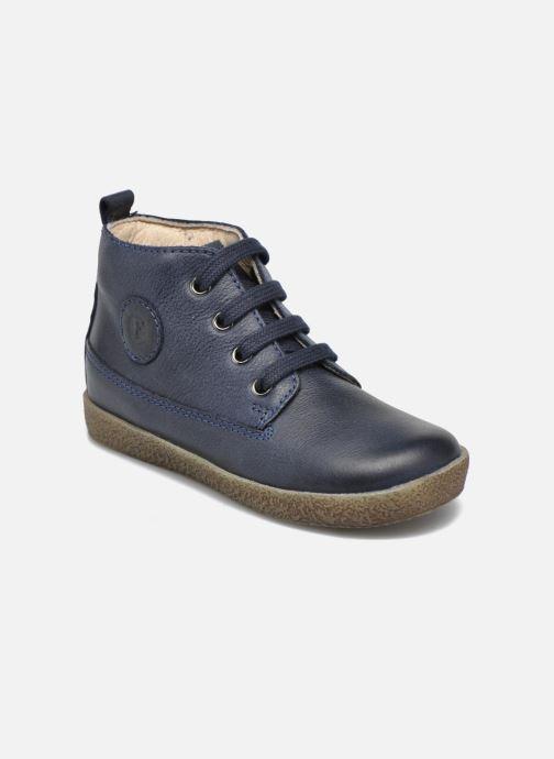 Chaussures à lacets Naturino Falcotto 1196 Bleu vue détail/paire