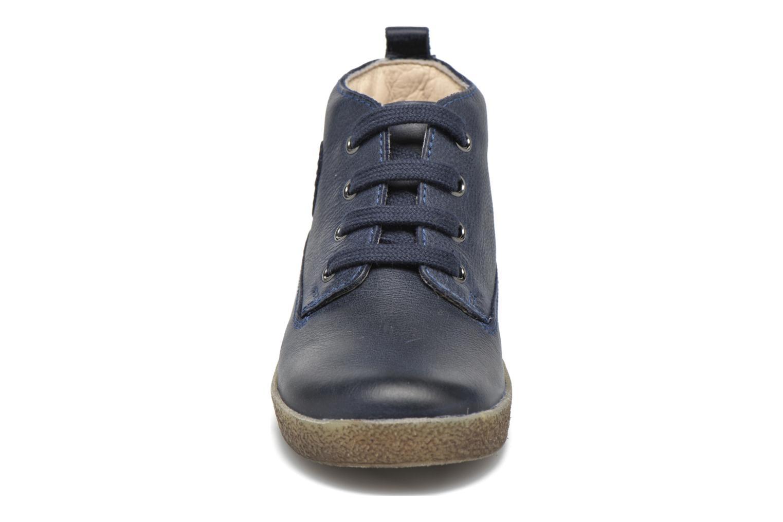 Zapatos con cordones Naturino Falcotto 1196 Azul vista del modelo