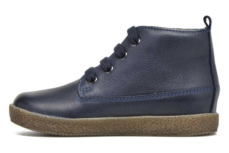 Zapatos con cordones Naturino Falcotto 1196 Azul vista de frente