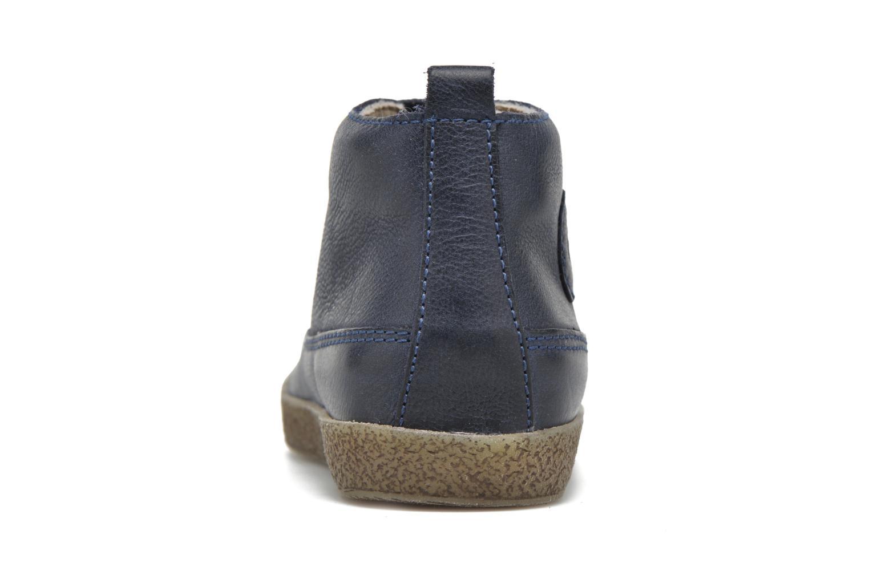 Zapatos con cordones Naturino Falcotto 1196 Azul vista lateral derecha