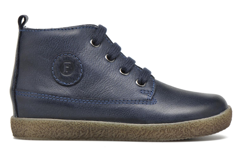 Zapatos con cordones Naturino Falcotto 1196 Azul vistra trasera