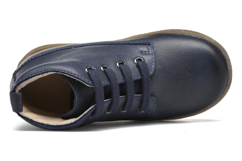 Zapatos con cordones Naturino Falcotto 1196 Azul vista lateral izquierda