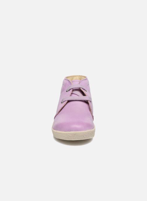 Zapatos con cordones Naturino Falcotto 1195 Violeta      vista del modelo