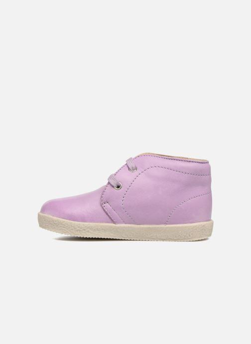 Zapatos con cordones Naturino Falcotto 1195 Violeta      vista de frente