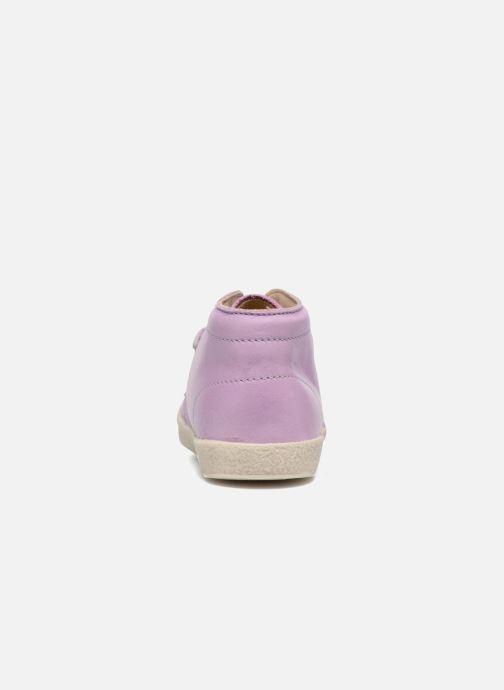 Zapatos con cordones Naturino Falcotto 1195 Violeta      vista lateral derecha