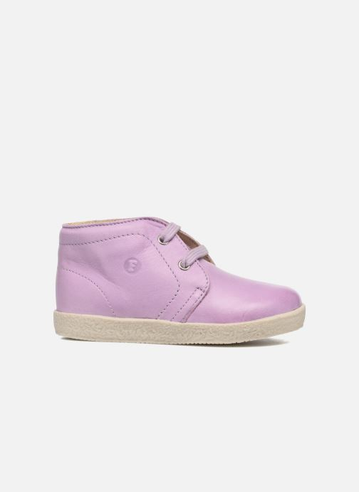 Zapatos con cordones Naturino Falcotto 1195 Violeta      vistra trasera