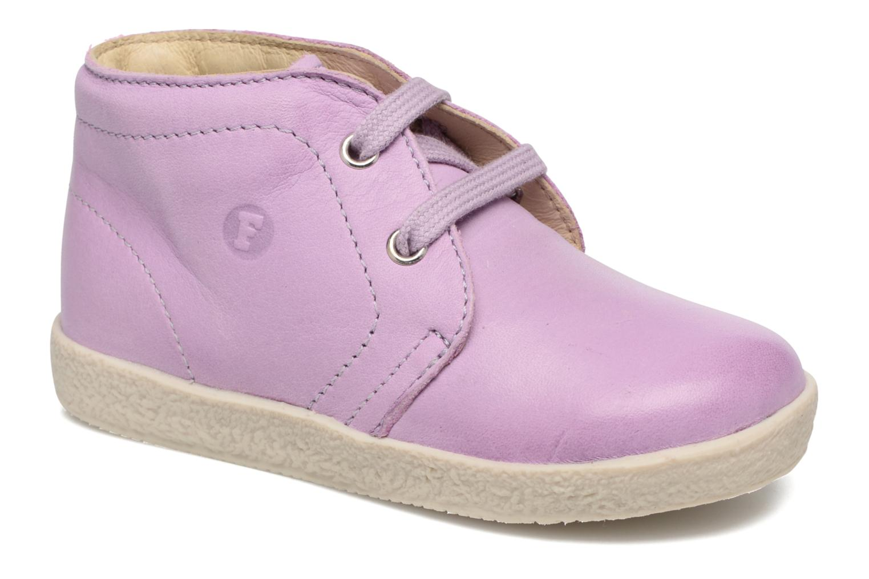 Zapatos con cordones Naturino Falcotto 1195 Violeta      vista de detalle / par