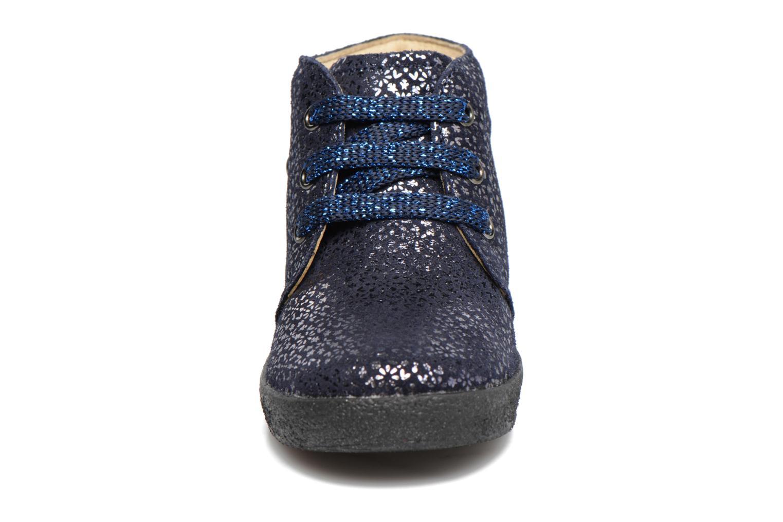 Zapatos con cordones Naturino Falcotto 1195 Azul vista del modelo
