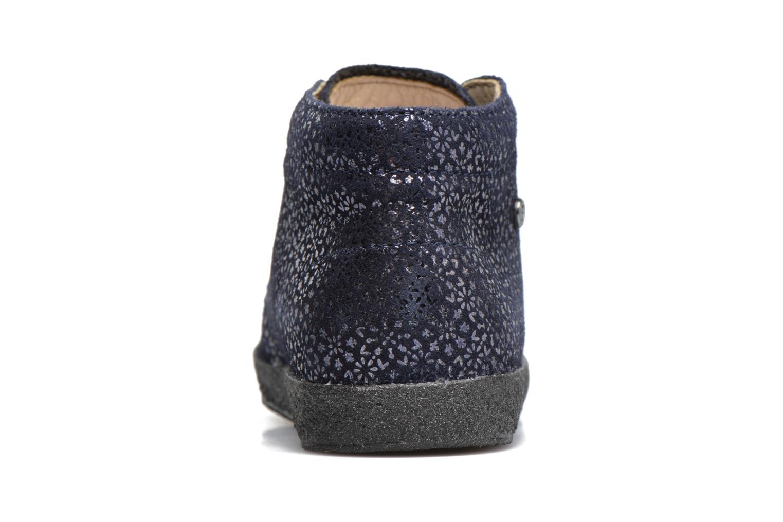 Chaussures à lacets Naturino Falcotto 1195 Bleu vue droite