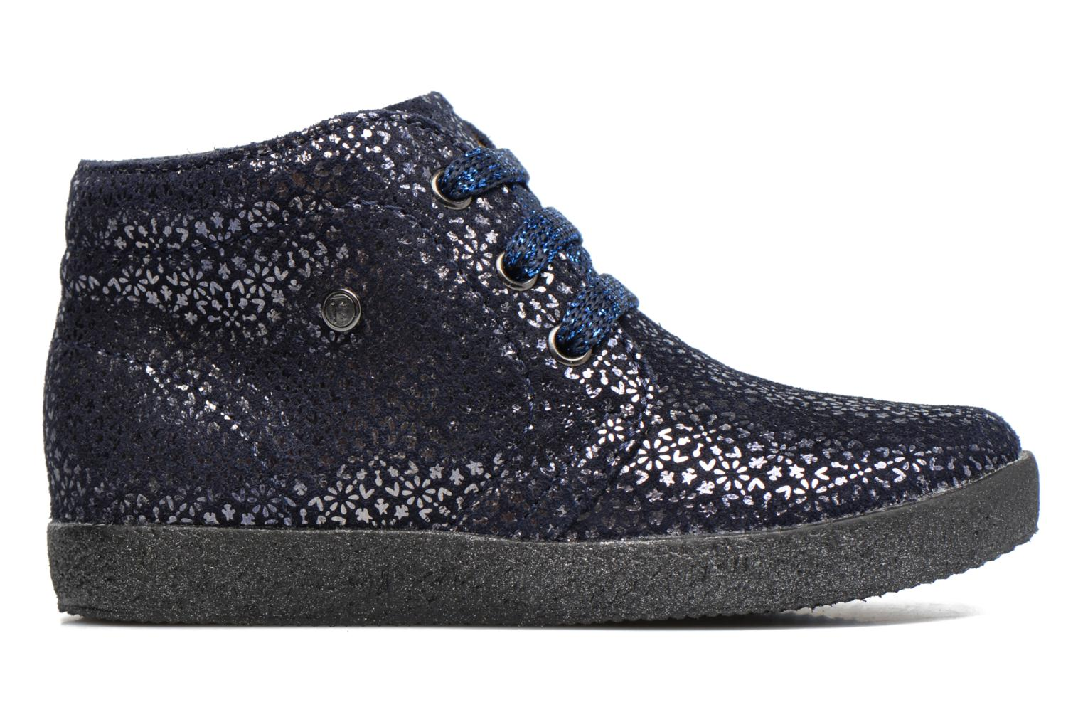 Lace-up shoes Naturino Falcotto 1195 Blue back view