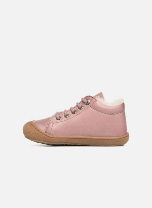 Chaussures à lacets Naturino Cocoon Warm Rose vue face