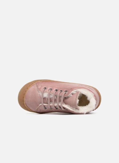 Chaussures à lacets Naturino Cocoon Warm Rose vue gauche