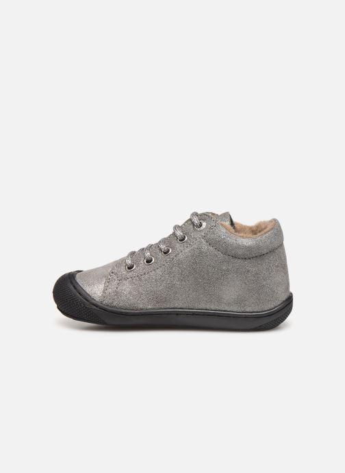 Chaussures à lacets Naturino Cocoon Warm Gris vue face