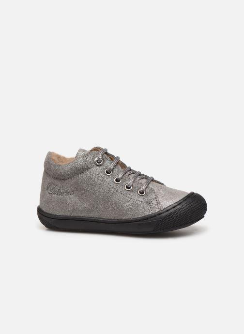 Chaussures à lacets Naturino Cocoon Warm Gris vue derrière