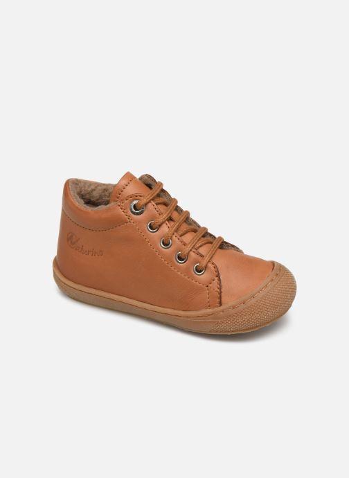 Zapatos con cordones Naturino Cocoon Warm Marrón vista de detalle / par