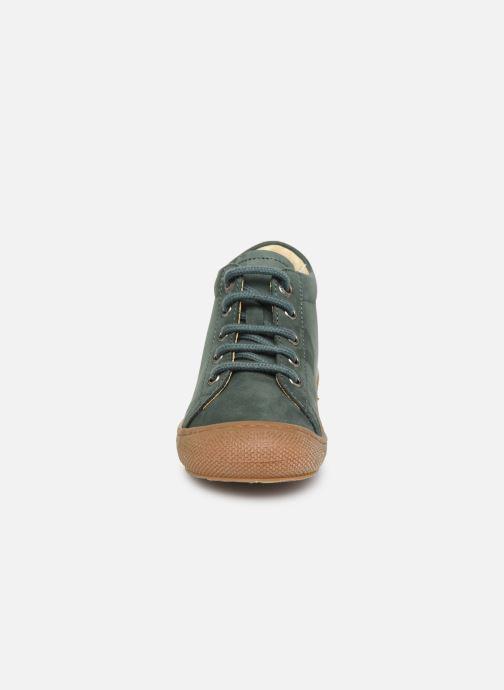 Chaussures à lacets Naturino Cocoon Warm Vert vue portées chaussures