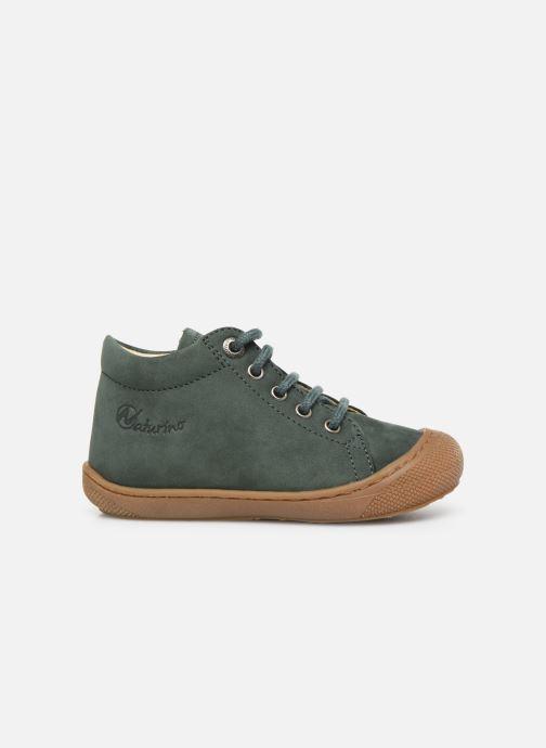 Chaussures à lacets Naturino Cocoon Warm Vert vue derrière