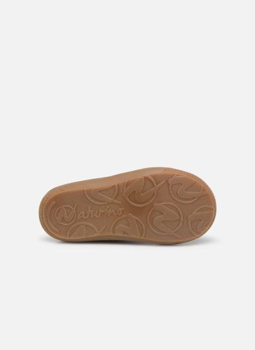 Chaussures à lacets Naturino Cocoon Warm Vert vue haut