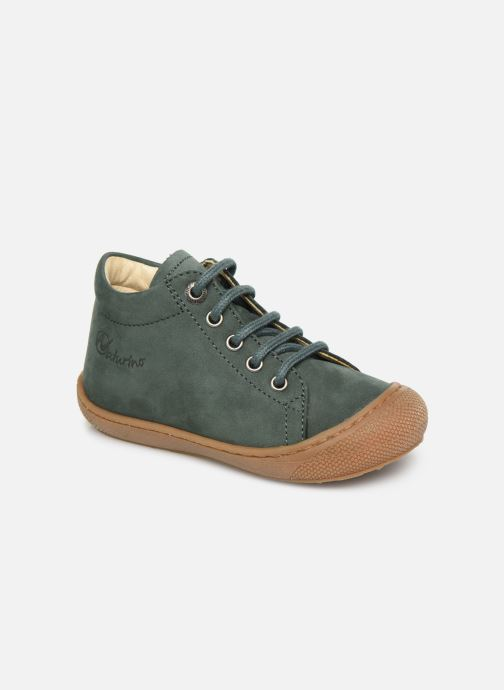 Chaussures à lacets Naturino Cocoon Warm Vert vue détail/paire