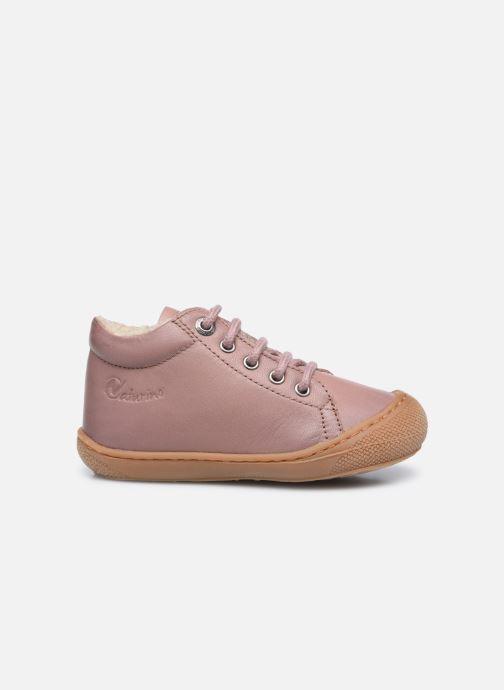 Chaussures à lacets Naturino Cocoon Warm Rose vue derrière