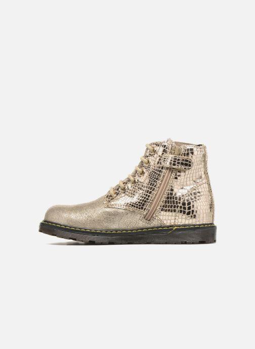 Bottines et boots Naturino Naturino 3745 Or et bronze vue face
