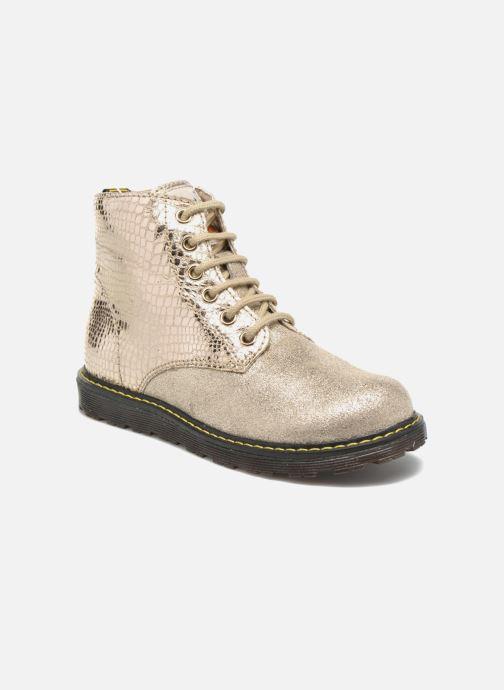 Bottines et boots Naturino Naturino 3745 Or et bronze vue détail/paire