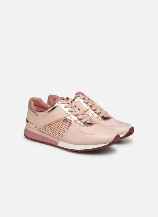 Sneakers Michael Michael Kors Allie Wrap Trainer Roze 3/4'