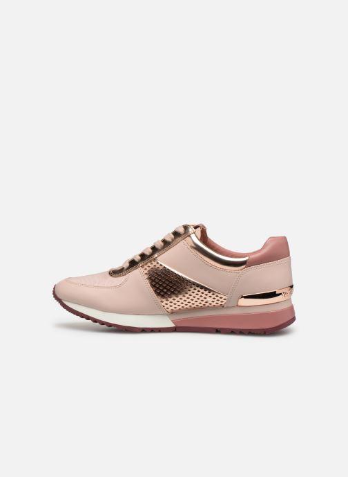 Sneakers Michael Michael Kors Allie Wrap Trainer Roze voorkant