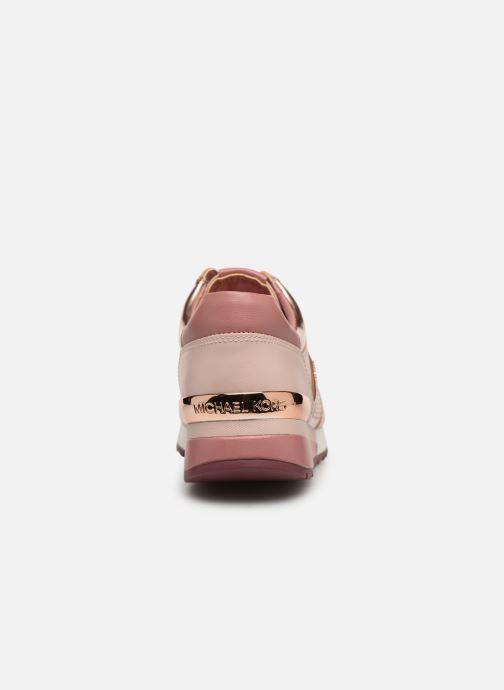 Sneaker Michael Michael Kors Allie Wrap Trainer rosa ansicht von rechts
