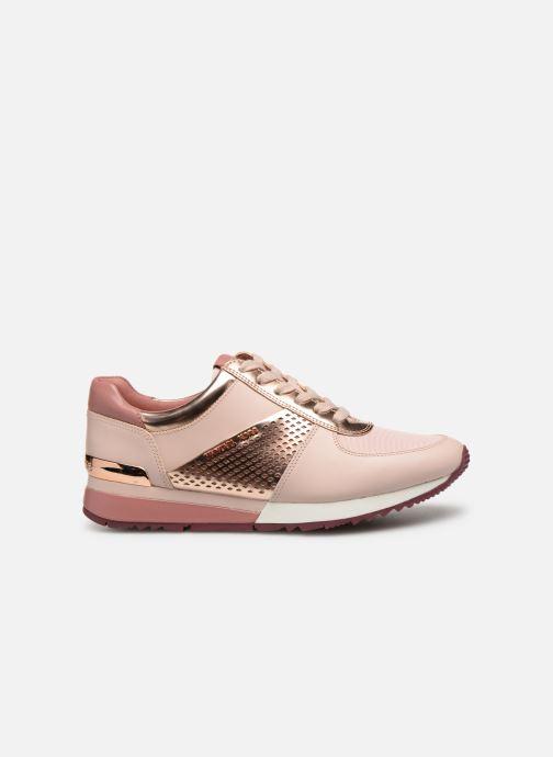 Sneakers Michael Michael Kors Allie Wrap Trainer Roze achterkant