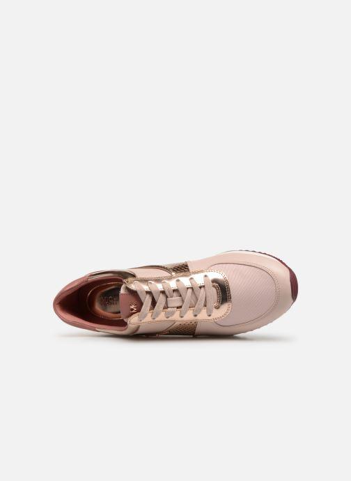 Sneaker Michael Michael Kors Allie Wrap Trainer rosa ansicht von links