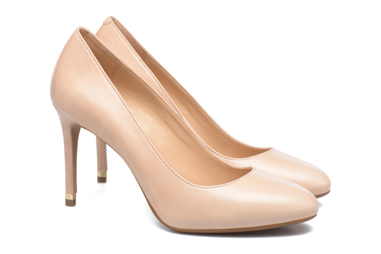 Zapatos de tacón Michael Michael Kors Ashby Flex Pump Beige vista 3/4