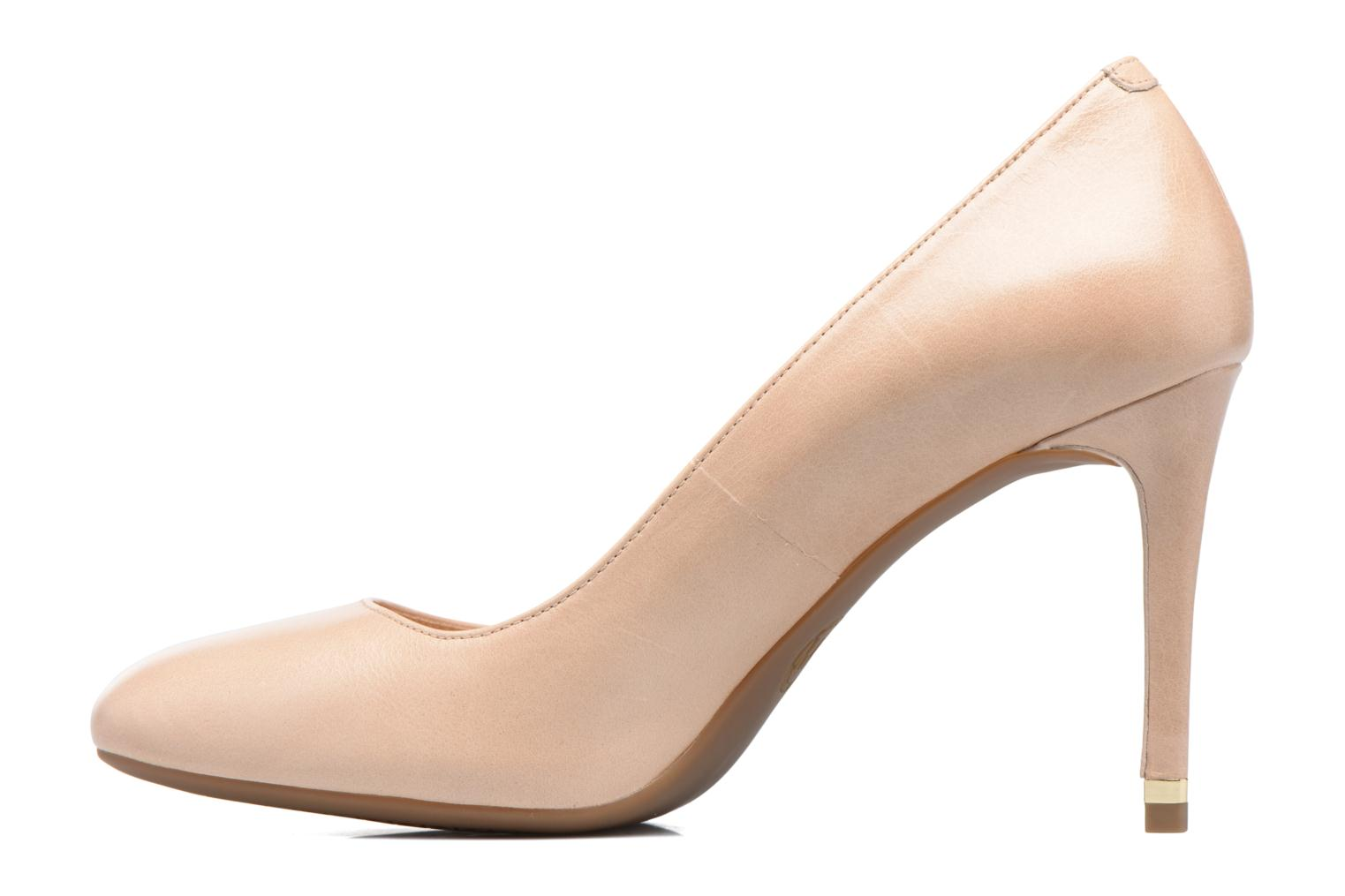 High heels Michael Michael Kors Ashby Flex Pump Beige front view