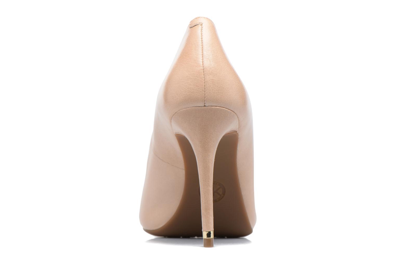 Zapatos de tacón Michael Michael Kors Ashby Flex Pump Beige vista lateral derecha