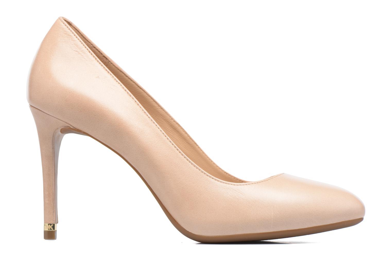 Zapatos de tacón Michael Michael Kors Ashby Flex Pump Beige vistra trasera