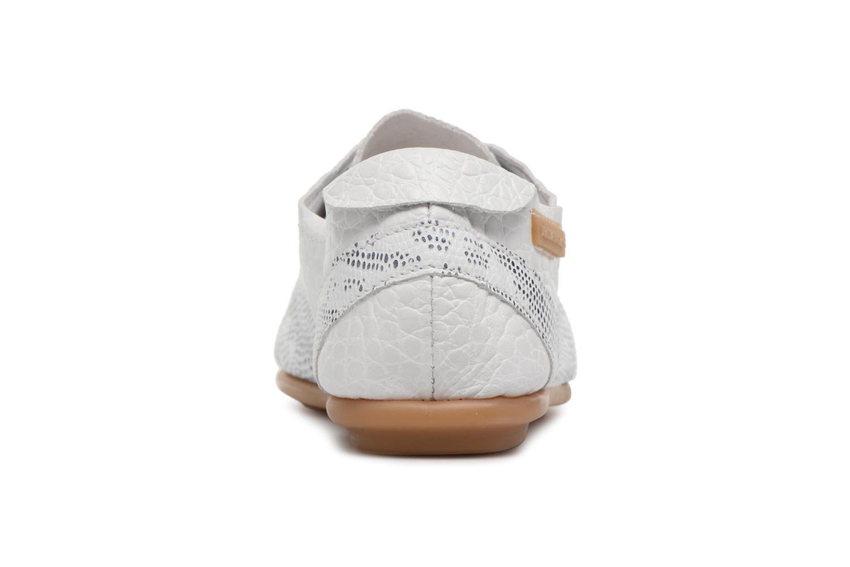 Chaussures à lacets Pataugas Swing/S Blanc vue droite