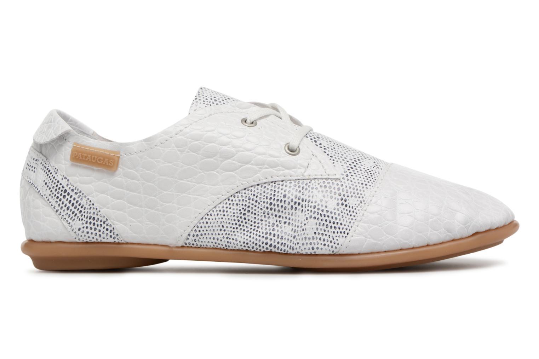 Chaussures à lacets Pataugas Swing/S Blanc vue derrière