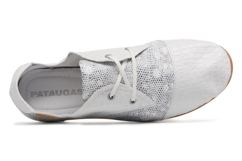 Chaussures à lacets Pataugas Swing/S Blanc vue gauche