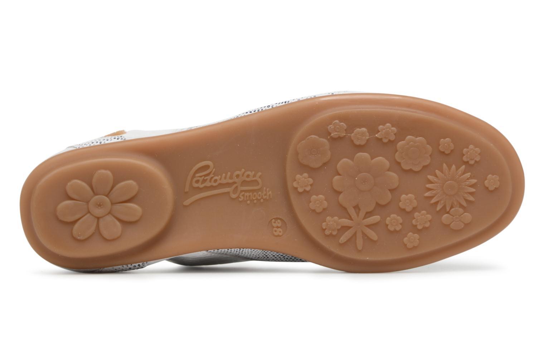Chaussures à lacets Pataugas Swing/S Blanc vue haut