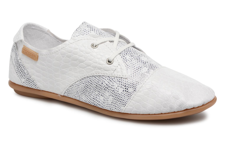 Chaussures à lacets Pataugas Swing/S Blanc vue détail/paire