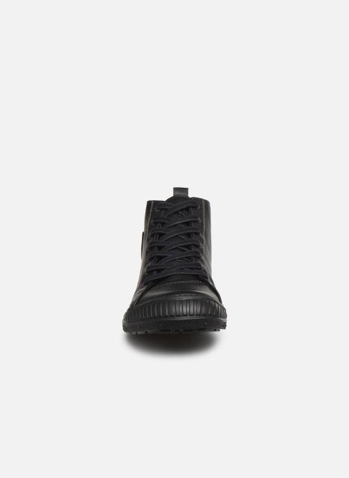 Baskets Pataugas RockerN M Noir vue portées chaussures