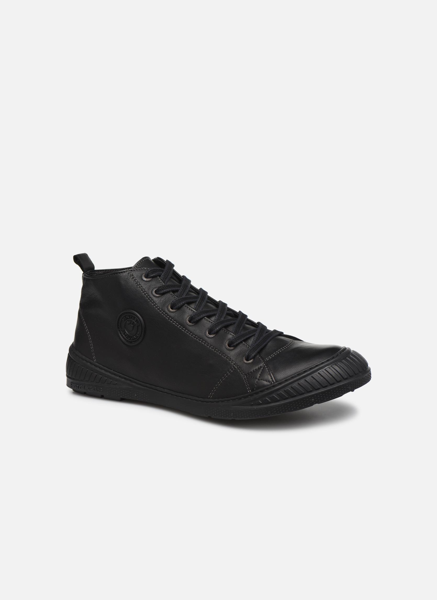 Baskets Pataugas RockerN M Noir vue détail/paire