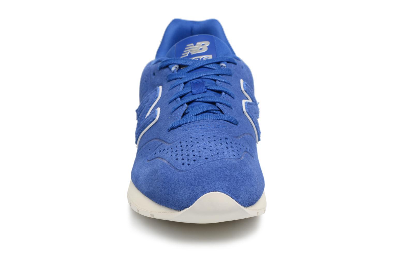 Sneaker New Balance MRL996 D blau schuhe getragen