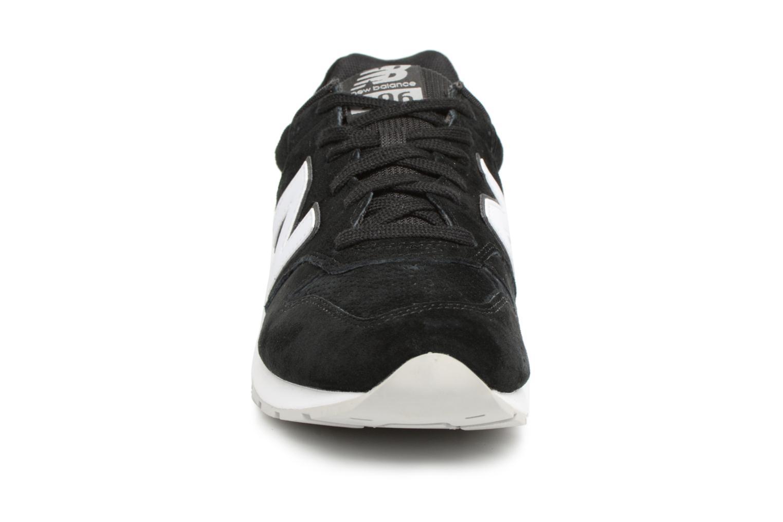 Sneaker New Balance MRL996 D schwarz schuhe getragen