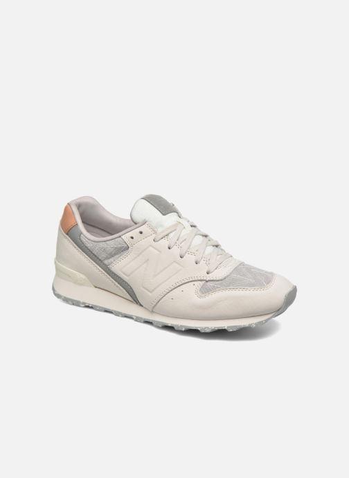 3761ed00a78 Sneakers New Balance WR996 D Beige detaljeret billede af skoene