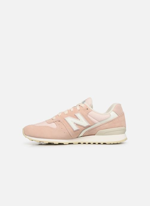 Trainers New Balance WR996 D Pink front view