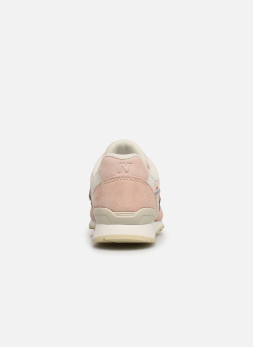 Trainers New Balance WR996 D Pink view from the right