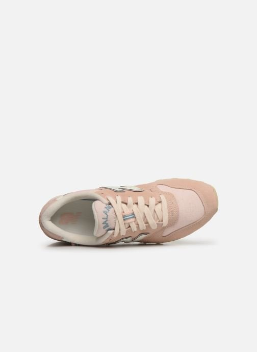 Trainers New Balance WR996 D Pink view from the left