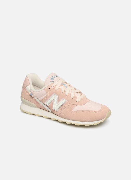 Trainers New Balance WR996 D Pink detailed view/ Pair view